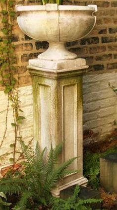 1000 Images About Garden Pedestals And Columns On