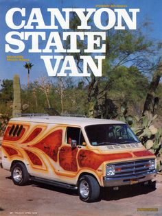 """Arnold Diffie's """"Canyon State Van"""""""