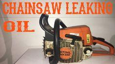 How To Repair a Chainsaw That Leaks Oil - Lawn Mowers - Ideas of Lawn Mowers Best Chainsaw, Chainsaw Repair, Chainsaw Mill, Lawn Equipment, Outdoor Power Equipment, Cordless Lawn Mower, Chainsaw Sharpener, Lawn Mower Repair, Yard Tools