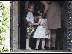 Adorable Prince George & Princess Charlotte at Pippa Middleton's wedding