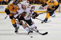 04/15/2015 LET THE PLAYOFFS BEGIN! Hawks beat Nashville 4-3 in 2OT to go up 1-0 in the series