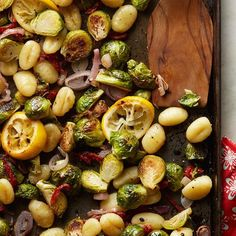 No need to boil the gnocchi first—sheet pan dinner for the win! #DinnerTonight
