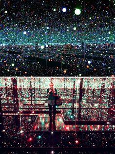 Yayoi Kusama 'Infinity Mirror Room', 2012, Tate Modern.