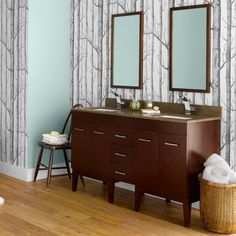 Ronbow 037023-7 Venus 59 in. Double Bathroom Vanity Set with TechStone Top - RON751
