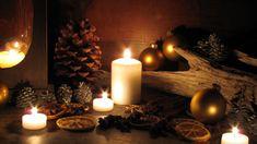 Weihnachtsdeko selber basteln aus Mandarinen und Nüssen