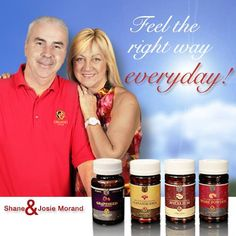 Organo Gold Co-Founder Shane Morand and his wife Josie