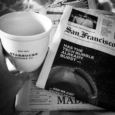First weekend without football (I care about)... I guess I could start paying attention to the news again #lazysunday#sf#sfchronicle#pleasesaythisheadlineistrue#eyespysf#sanfrancisco#photooftheday#igers#igerssf