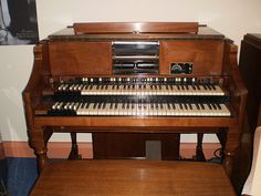 The Hammond organ is an electric organ invented by Laurens Hammond in 1934 and manufactured by the Hammond Organ Company. While the Hammond organ was originally sold to churches as a lower-cost alternative to the wind-driven pipe organ, in the 1960s and 1970s it became a standard keyboard instrument for jazz, blues, rock music, church and gospel music.