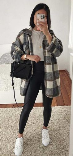 Trendy Fall Outfits, Casual Winter Outfits, Winter Fashion Outfits, Retro Outfits, Simple Outfits, Classy Outfits, Look Fashion, Stylish Outfits, Vintage Outfits