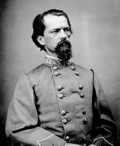 Maj-Gen John Brown Gordon (6.2.1832|9.1.1904) 1 of Lee's most trsuted generals and thought to have been the titular leader of Klu Klux Klan in 1860's Georgia. Fought Peninsula Campaign, Seven Days & wounded in the assault on Malvern Hill.  Severely wounded at Antietam when hit in 5 times in different places. Fought from Gettysburg through to Appomattox. Wounded 8|1864 at Shepherdstown & again at Fort Stedman 25.3.1865. Led his troops in last charge of AoNV at Appomattox Court House.