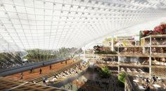 BIG and Heatherwick Studio Design a New Google Headquarters What the new Google campus in Mountain View, Calif., could look like.