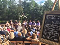 Wedding Ceremony on the Deck