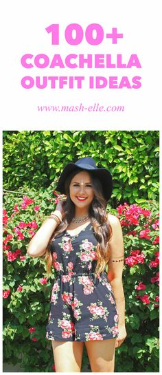 Everything is under $50! | Here are 100+ outfit ideas that will make you stand out in the crowd! Fashion blogger Mash Elle selects a roundup of fashion clothing and accessories perfect for music festivals!