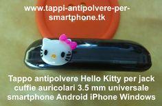 Tappo antipolvere Hello Kitty