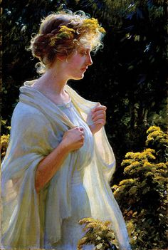 "Charles Courtney Curran, ""The Golden Profile"" (1913)"