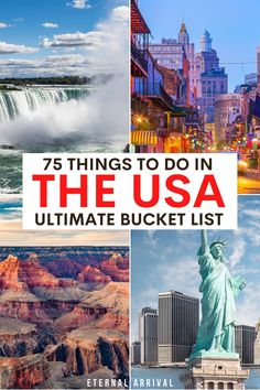 Usa Travel Guide, Travel Usa, Travel Guides, Travel Tips, America City, South America Travel, North America, Best Places To Travel, Cool Places To Visit