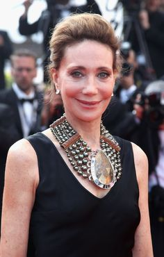Actress Marisa Berenson (Cannes Film Festival on May 23, 2010)