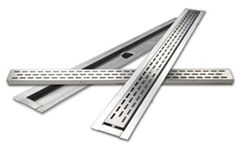 LATICRETE Hydro Ban shower floor drains are part of a comprehensive warrantied shower installation system. Available in linear trough and rectangular bonding flange shapes with many grate finishes including a tile-in option to make it virtually invisible.