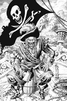 pirate drawing sketch http://cbpirate.com/main/lmiller7