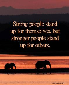 Well Said Quote About Strong People