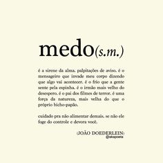 Medo - João Doederlein