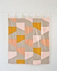 Wool + Linen Patchwork Quilt | Purl Soho