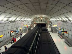 Basque Country, Bizkaia, Bilbao, Underground by Norman Foster