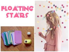 Stars are great for a kid's birthday party or even your own. | 32 Unbelievably Cheap And Beautiful DIY Photo Backdrops