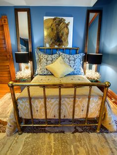 Vintage Metal Bed Design, Pictures, Remodel, Decor and Ideas