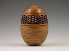 Woodturning Segmenting Wood Vessel St. Louis by DonLemanWoodArtist, $250.00