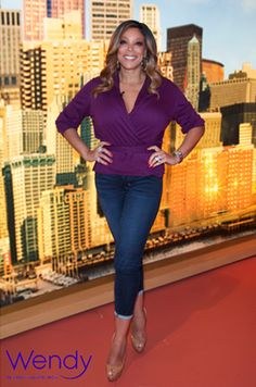 Wendy Williams goes purple on 'The Wendy Williams Show'