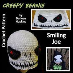 9065f3252b8 Skull Crochet Pattern Smiling Joe