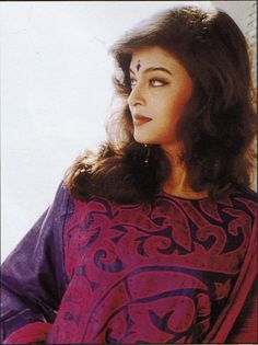 Aishwarya's photoshoot during her early modelling days.