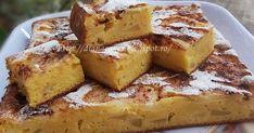 Prajitura cu iaurt si mere Romanian Food, Romanian Recipes, Good Food, Yummy Food, Sweet Memories, Nutritious Meals, My Recipes, Cooking Recipes, Sweet Tooth