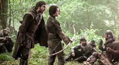 The Climb - Game of Thrones - Season Three: Episode 6 - Anguy the Archer with Arya Stark