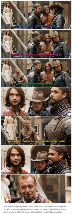 The Musketeers - 2x10 - Trial and Punishment. France has declared war on Spain!
