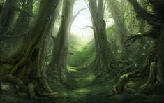 Woods_Fable_2_by_COEURDECRISTAL