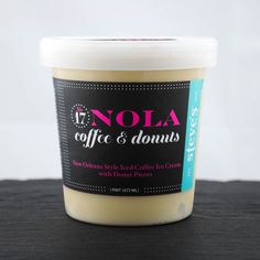 NOLA Iced Coffee & Donuts-If only they sold this anywhere around here! Sounds amazing!