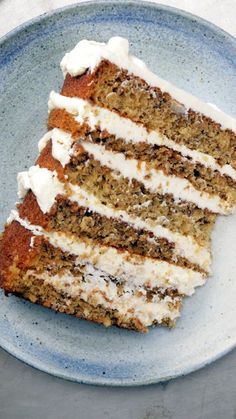 Fans of banana bread will go, well, bananas, for this towering banana cake with cream cheese frosting.