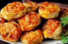 Nejedlé recepty: Šneci z listového těsta Shrimp, Meat, Ethnic Recipes, Food, Essen, Meals, Yemek, Eten