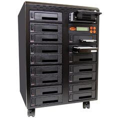 Systor 1:16 SATA/IDE Combo Hard Disk Drive / Solid State Drive (HDD/SSD) Duplicator/Sanitizer - High Speed (150mb/sec) (SYS5016HS)