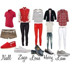 One Direction, created by twixbar9977 on Polyvore