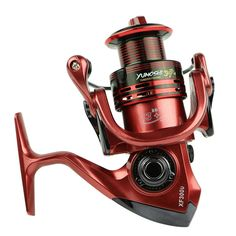 13+1 Bearing Balls Green/Red/Yellow Spinning reel fishing reel  5.5:1/4.7:1 spinning reel casting fishing reel lure tackle line