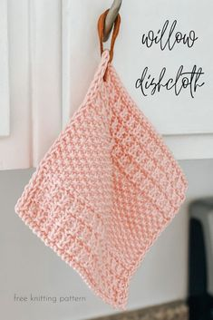 Welcome to Kneedles & Life where you will find crochet, knitting, mom, and life posts! Knitted Dishcloth Patterns Free, Knitted Washcloths, Knitting Patterns Free, Free Knitting, Knit Patterns, Dishcloth Crochet, Canvas Patterns, Stitch Patterns, Knitting Projects