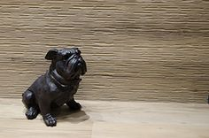 Provoak collection by #provenza #emilgroup #tiles #ceramics #floortiles #interiordesign #madeinitaly #architecture #style #woodinspiration #woodcut #quercia #dog #bulldog #texture