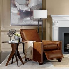 Ethan Allen; it's an expensive piece but the shape is definitely what I'd want you to look for. But, again, it has to be comfortable for Woody