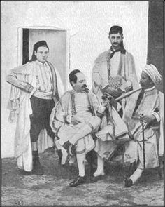 Tunisian Jewish men