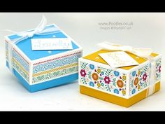 Pootles - Lidded Box for 3x3 Cards