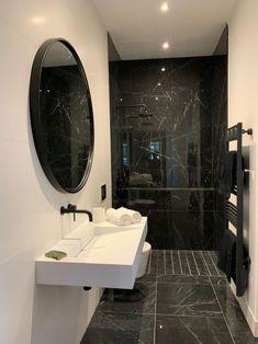 Washroom Design, Bathroom Design Luxury, Modern Bathroom Design, Modern House Design, Home Room Design, Dream Home Design, Home Interior Design, Dream Bathrooms, Small Bathroom