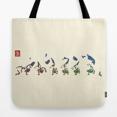 Capoeira 456 Tote Bag by Alexandre Guillaume